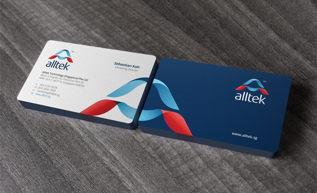 alltek business cards