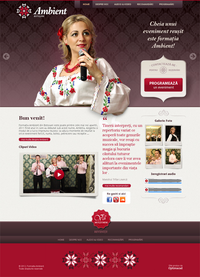 ambientbotosani.ro homepage screenshot